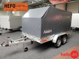 Anssems GTT- R -  1500 kg. tandemasser 2.51 x 1.26 mtr.