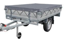 PLTB basic enkelas 1000 kg. geremd 2.11 x 1.32 mtr.