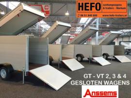 GESLOTEN-WAGENS Anssems GT - VT 2, 3 & 4 serie