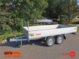 PLTT basic tandemas 1350 kg. geremd 3.05 x 1.50 mtr.