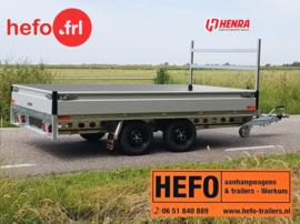Henra PL  2000 kg. tandemas geremd - 3.01 x 2.02 mtr.