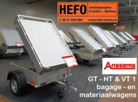 BAGAGE/ MATERIAAL-WAGENS Anssems GT - HT / VT1 serie