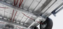 Terrax  tandemasser 3000 kg. 3.94 x 1.80 mtr./ klep 1 mtr.