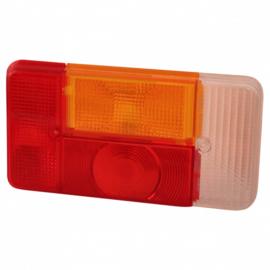 Radex 5001 los achterlichtglas/ RECHTS met wit glas