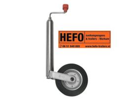 AL-KO neuswiel / steunwiel Ø 48 mm - stalen velg