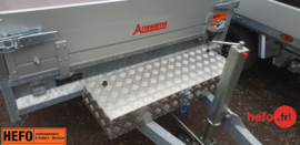 Aluminium dissel opbergbox voor Anssems -  90x32x15 cm.