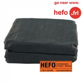 HEFO  zanddoek -  550 x 250 cm. gaasdoek fijnmazig, elastiek rondom