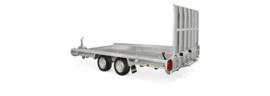Terrax  tandemasser 3000 kg. 2.94 x 1.50 mtr./ klep 1,5 mtr.