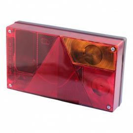 Multipoint I compleet achterlicht RECHTS / 5 polige aansluiting