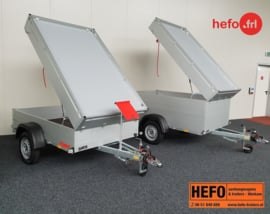 Anssems GTB- HT - 1200 kg. geremd 2.51 x 1.26 x 0.48 mtr.
