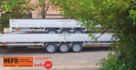 Hulco 3500 kg. trippel (3)asser 6.11 x 2.23 mtr.