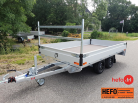 Henra PL  2000 kg. tandemas geremd - 3.31 x 1.85 mtr.