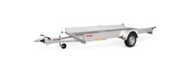 AMT Eco 1300 kg. geremd 3.40 x 1.80 mtr.