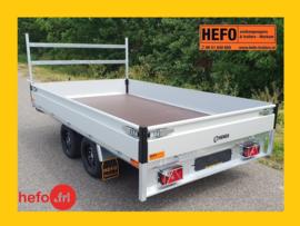 Nieuw bij HEFO op alle kippers & plateauwagens