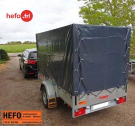 Anssems BSX 750 kg met huif aan  Cafetaria De Greiden uit Heerenveen