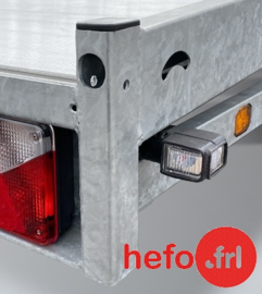 set LED contour lampen voor montage op de achterzijde