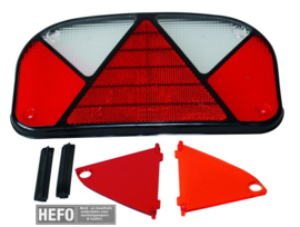 Multipoint II - los achterlichtglas / links en rechts te gebruiken