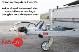 Henra PL 1800 kg. geremd - 3.01 x 1.55 mtr.