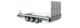 Terrax  3 asser 3500 kg. 3.94 x 1.80 mtr./ klep 1,5 mtr.