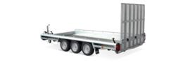 Terrax  tandemasser 3500 kg. 3.94 x 1.80 mtr./ klep 1,5 mtr.