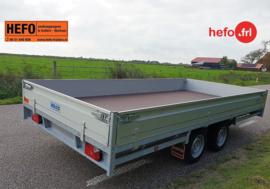 Hulco 2600 kg. tandemas 4.05 x 1.83 mtr.