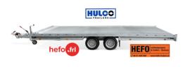 Hulco Carax 3000 kg. tandemasser 4.40 x 2.07 mtr.