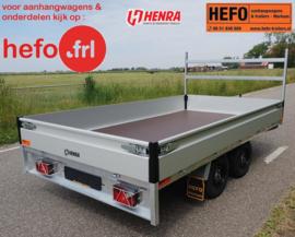 Henra PL  2000 kg. tandemas geremd - 3.01 x 1.85 mtr.