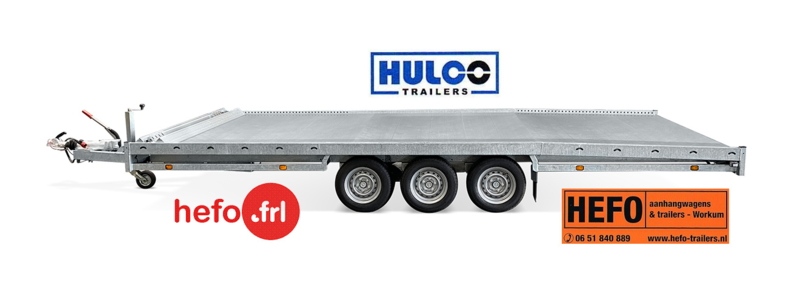 Hulco Carax 3500 kg. trippel/ 3 asser 4.40 x 2.07 mtr.