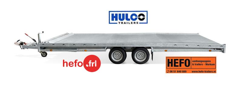 Hulco Carax 3000 kg. tandemasser 5.40 x 2.07 mtr.