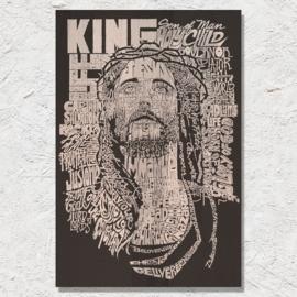 Namen van God woordwolk (Engels)