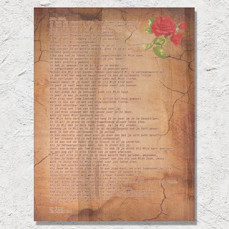Liefdesbrief van DE Vader