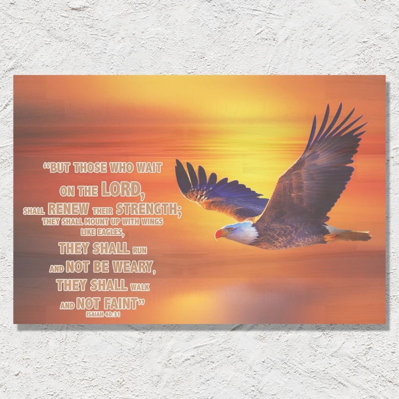 Jesaja 40:31 (Engels)