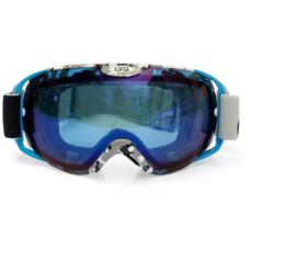 Skibril luxe lens blauw  evo frame blauw X type 9