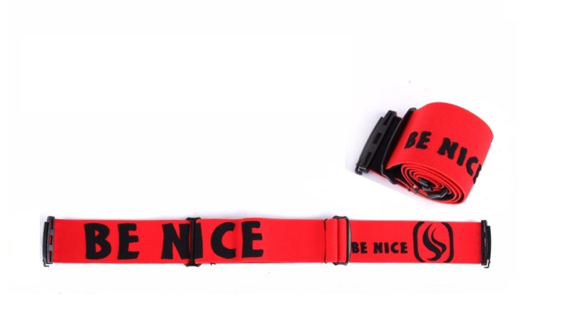 Losse skibril band rood AX & F type