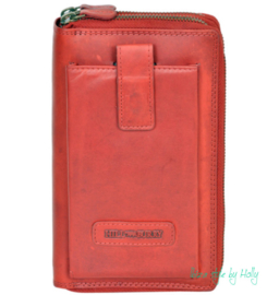 Hill Burry Portefuille/Organizer - 026 Red