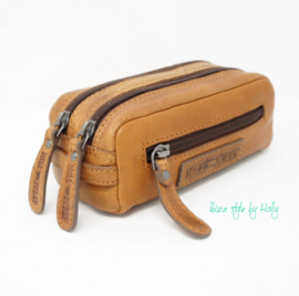 Hill Burry Make-up tasje/Pennenetui - 3293 Brown