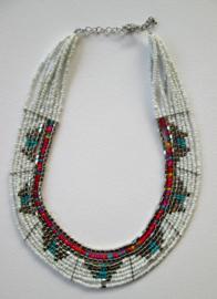 Ketting Inca - White