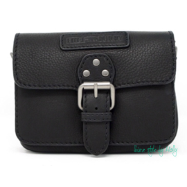 Hill Burry  Schoudertas Small  - 3280 Black