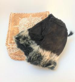 Mofjes/Vingerloze handschoenen - Black