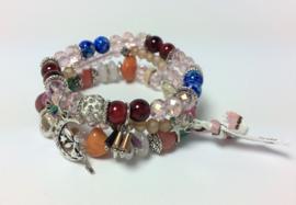 Armbandset - Tess Pink