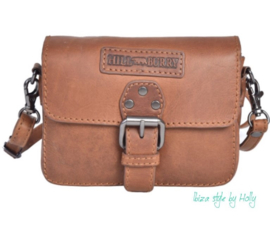 Hill Burry  Schoudertas Small  - 3280 Brown