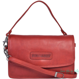 Hill Burry Schoudertas/Clutch - 1631 Red