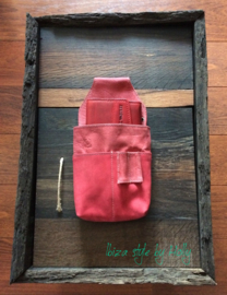 Cash Holder Heup Tas - Red