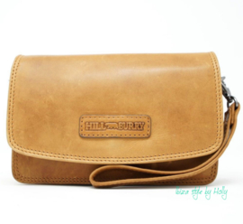 Hill Burry Schoudertas/Clutch - 1631 Brown