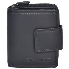 Hill Burry Portemonnee - 5026 Medium Black