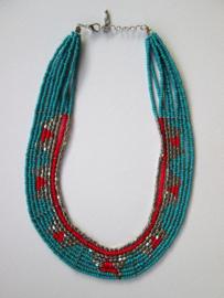Ketting Inca - Blue