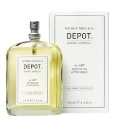 DEPOT 407  Restoring Aftershave