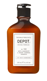 DEPOT 102 Anti-Dandruff & Sebum Control Shampoo 250ml (anti-schilfers & vet haar)