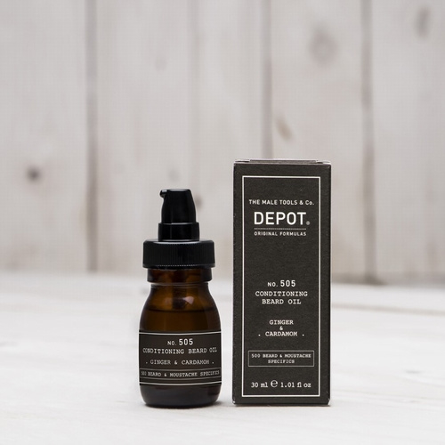 Depot Beard Oil Cardamon 30ml