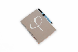 PHI Notes ring bind - Taupe